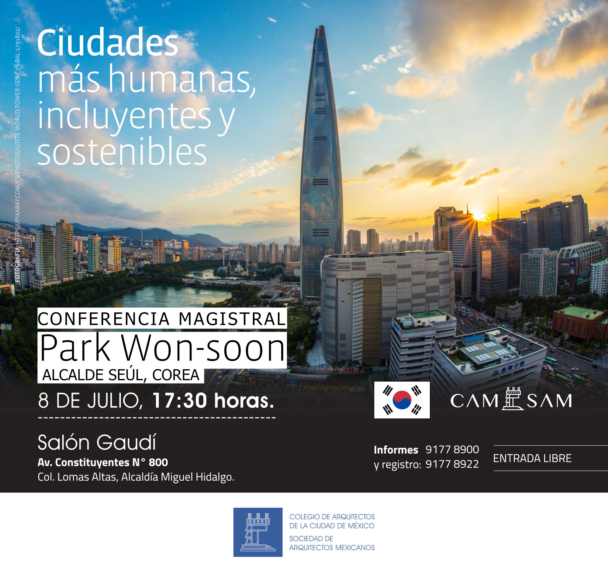 Conferencia Magistral: Park Won-Soon