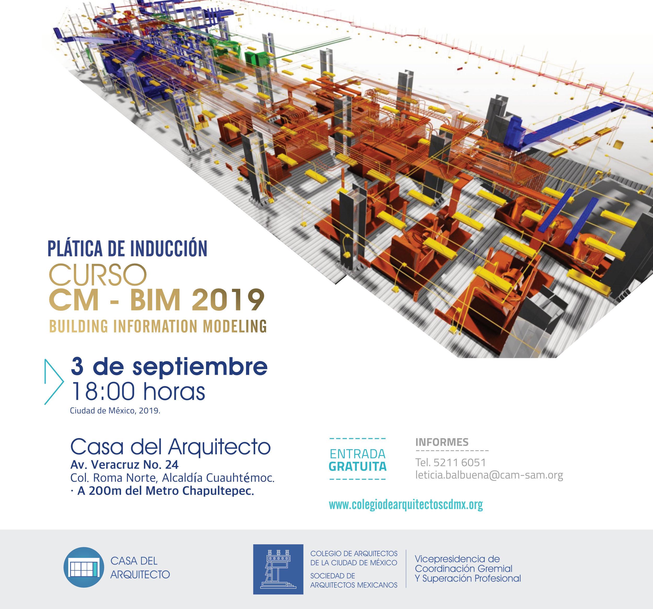 Plática de inducción CM - BIM 2019