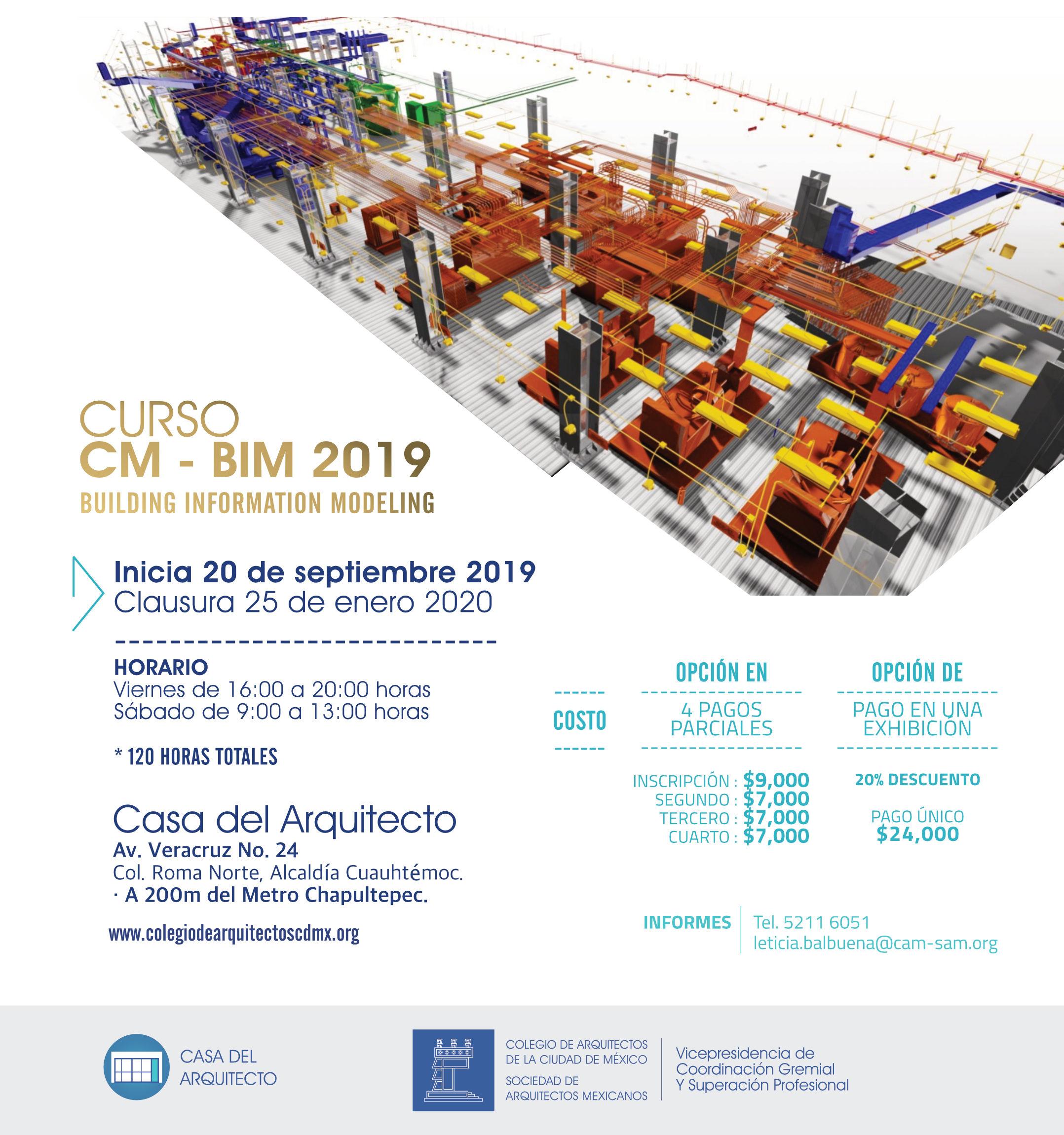 Curso CM - BIM 2019