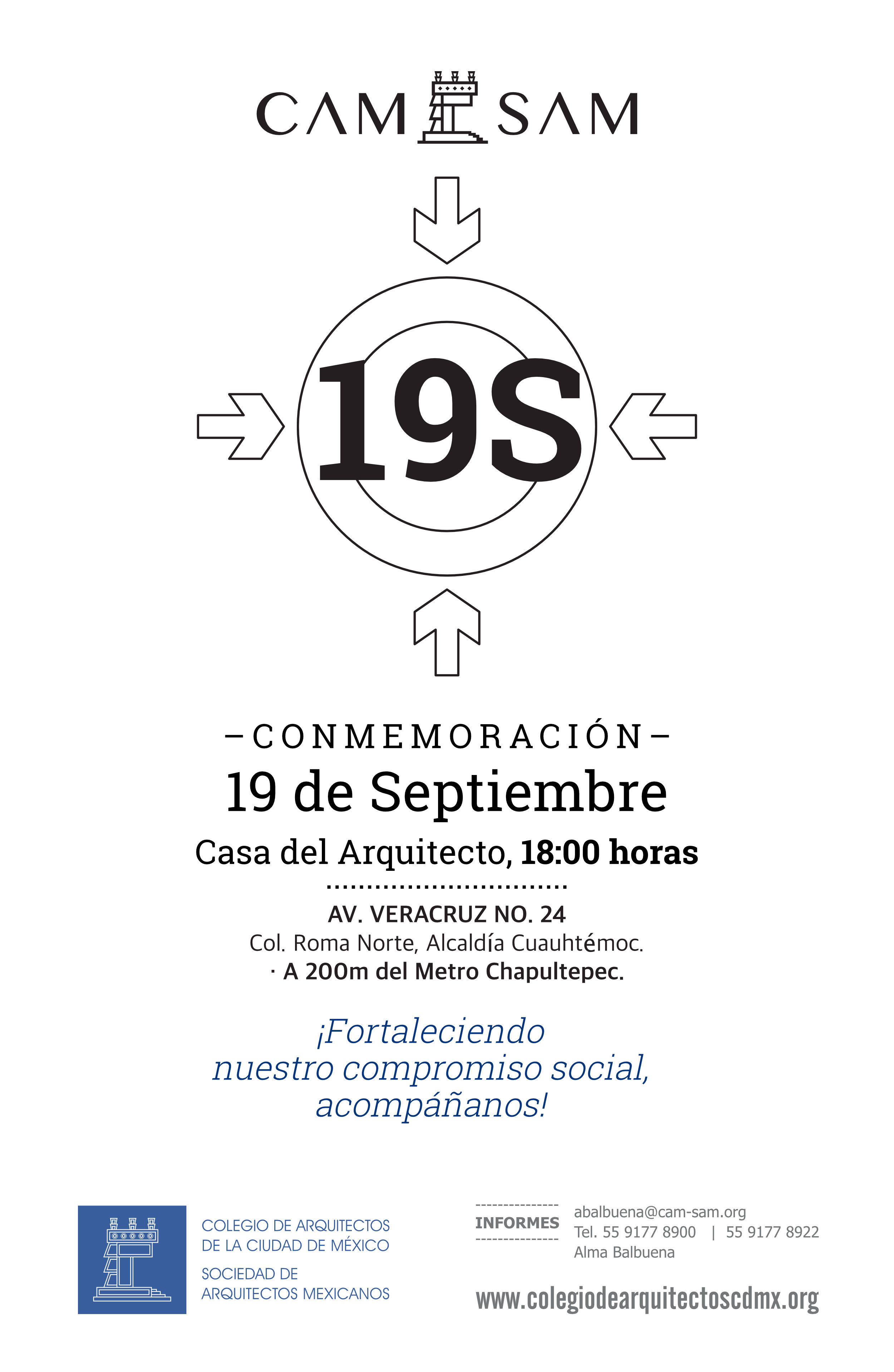 Conmemoración 19 de Septiembre