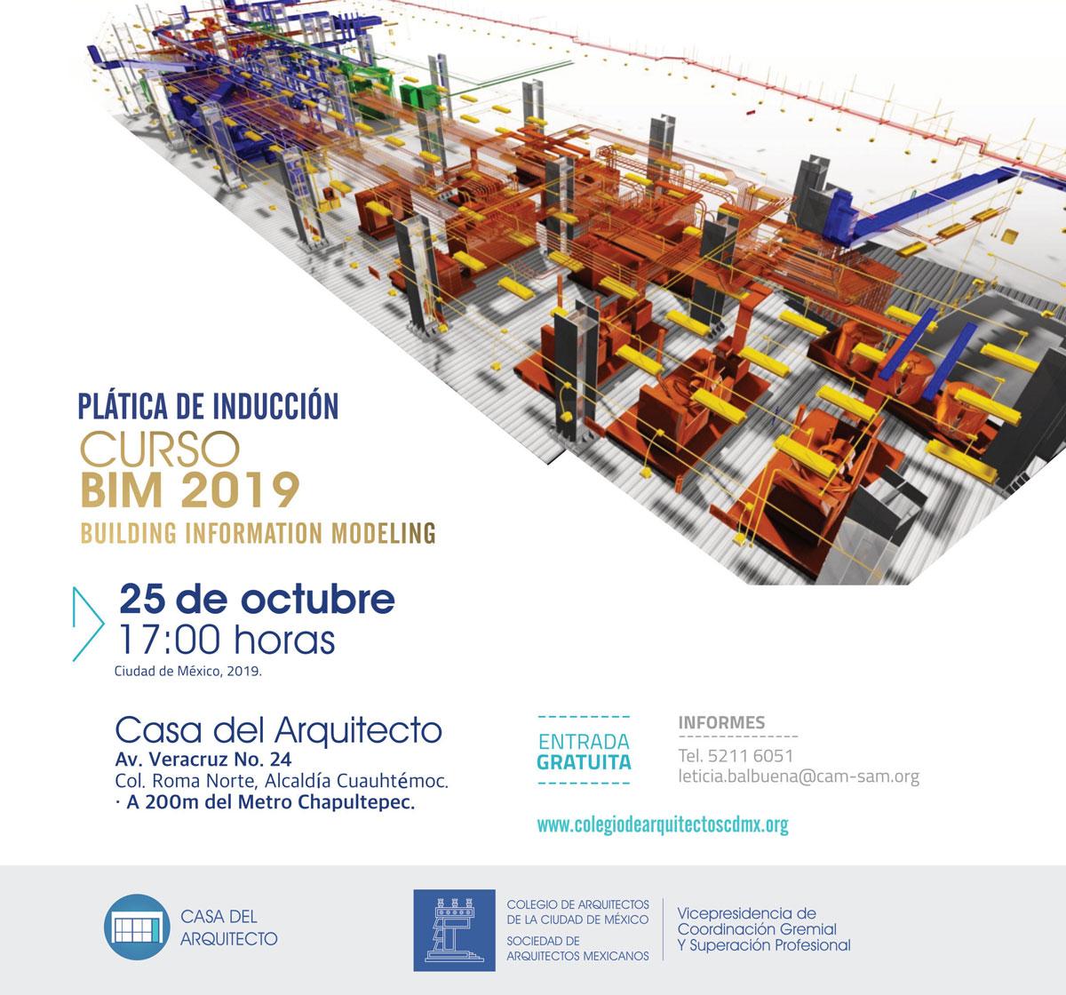 Plática de inducción BIM 2019
