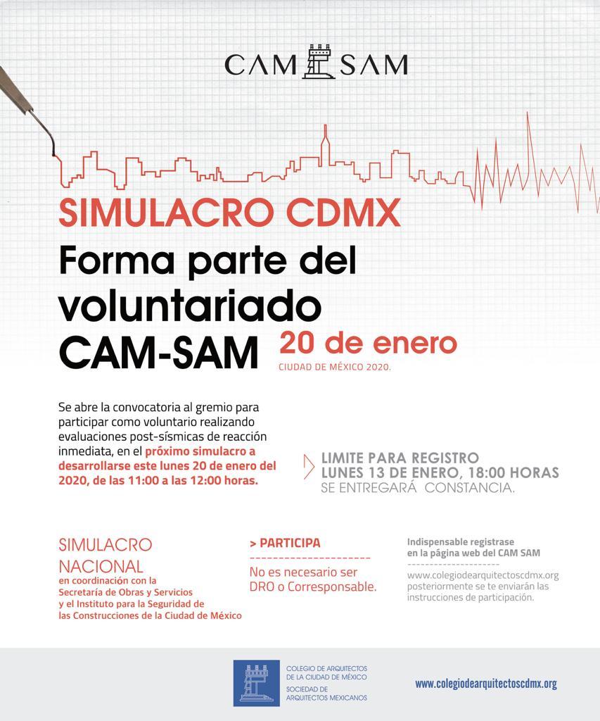 Forma parte del voluntariado CAM-SAM