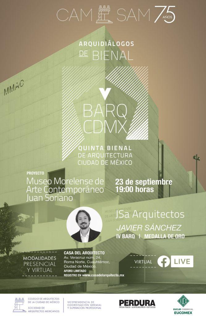 Arquidiálogo Javier Sánchez V Bienal